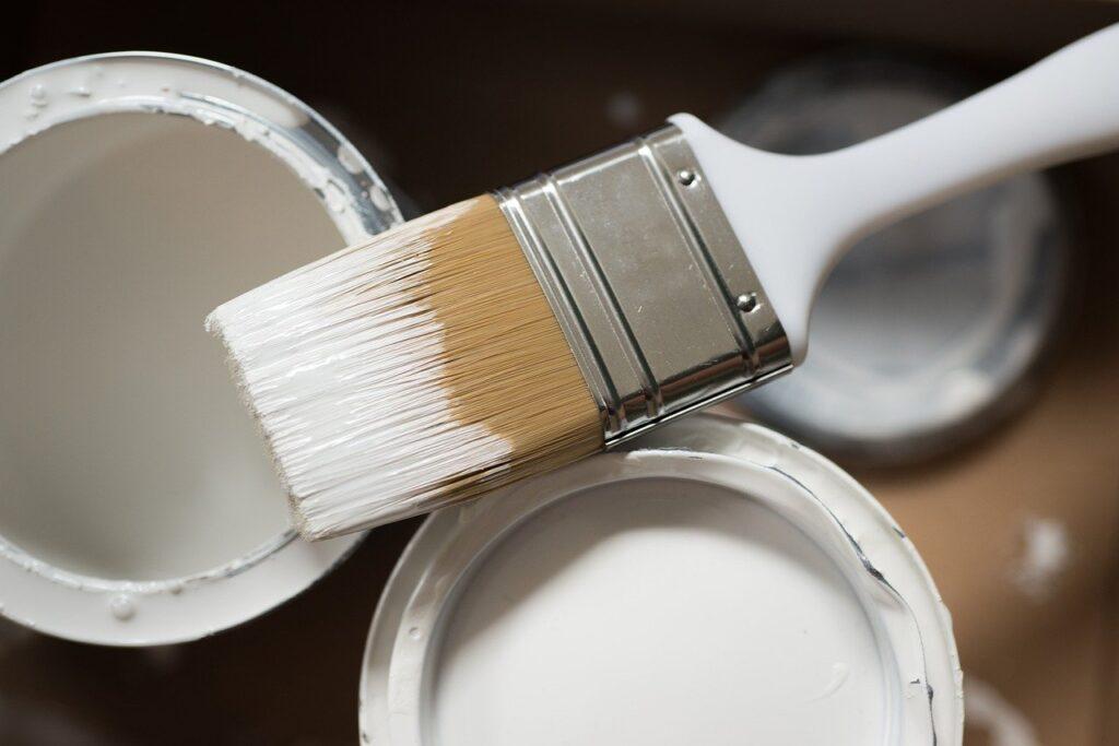 paintbrush, paint, diy